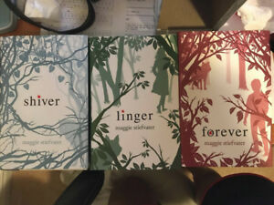 Shiver Trilogy Full Book Set HARDCOVER *BRAND NEW*