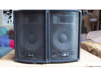 6d12 pa passive 200w speakers