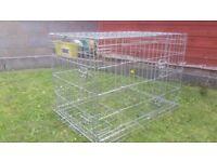 Savic dog crate 80cm wide x 60cm high x 50cm deep