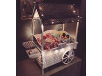 Cute table top sweet cart for sale