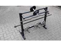 PRO FITNESS WEIGHTS STORAGE RACK STAND