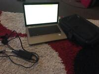 HP G62 laptop 3gb ram web cam laptop bag and charger
