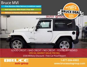 2010 Jeep Wrangler SAHARA 3.8L 6 CYL 6 SPD MANUAL 4X4 2-DOOR