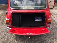 1275 Austin Mini Mayfair Red