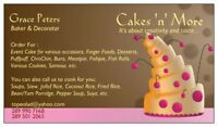 Catering Services (Cakes 'n' More)