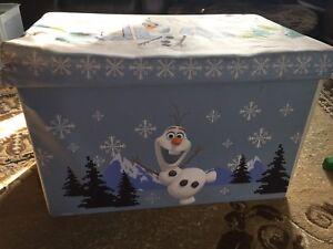 Frozen Olaf Toy Box