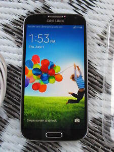 Unlocked Samsung S4 - 16GB with Charger and Case