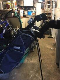 Full Golf set For sale including Bag. Excellent condition.