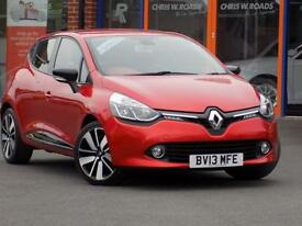 RENAULT CLIO 1.5 DCi DYNAMIQUE S MEDIANAV ENERGY 5dr (red) 2013
