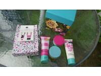 Designer Joules hand care and body care sets brand new