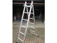 3 position aluminium platform ladder