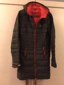 Ladies Superdry coat size M will fit 8-10