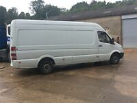2009 Mercedes sprinter 4 metre van 2.1cc diesel mot until October