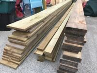 Treated 9x1 and 3x1 Timber and 6x1 (ideal raised beds and garden)
