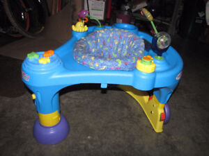 Baby Items - Saucer, Playmat, Avent, Towels, Musical Mat