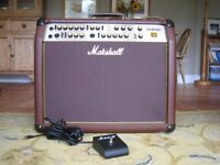 MARSHALL AS100D ACOUSTIC GUITAR AMPLIFIER/P.A.