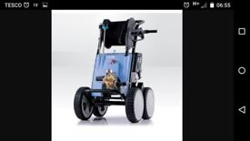 Kranzle B200T Petrol power pressure washer with inlet pipe used only twice.