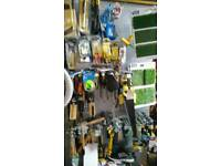 2 metres shop shelves with hooks