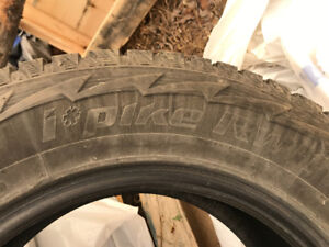18inch Hankook Studded winter tires