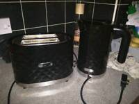 Goodmans kettle and toaster