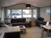 For sale luxury static caravan holiday home with decking. Payment options available. South Devon.
