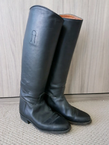 Leather English Tall Riding Boots