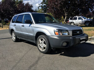 (Quick Sale) 2004 Subaru Forester 2.5X Manual Transmission