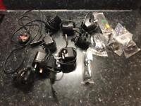 Various chargers and leads - Motorola, Nokia, Blackberry, Sony Ericsson