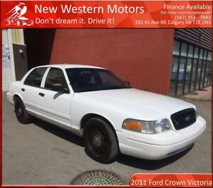 2011 Ford Crown Victoria Police Interceptor LIGHT HAIL!