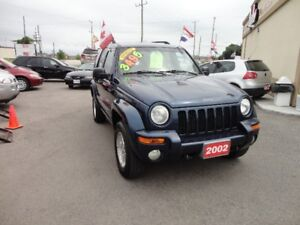 2002 Jeep Liberty Limited SUV, Crossover E-TESTED & CERT