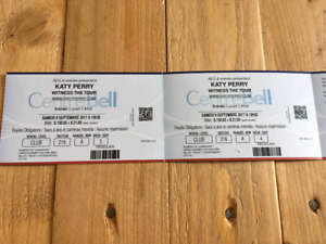 Katy Perry 9 sept 2017 centre bell