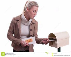 NEEDED: Leaflet and flyer distribution in Derby shops and door to door