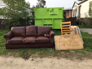 FREE building materials and some furniture