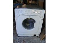 Washing Machine Indesit Intergrated Faulty Maybe Easy Fix or for Spares