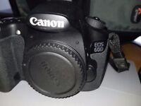 Canon 60d DSLR Camera Body Only