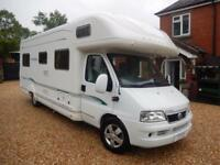 Bessacarr E765 2005 6 Berth Rear Fixed Bed Motorhome For Sale