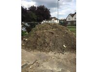 Over 10 tonnes of Garden soil or FREE