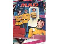 Picture 1 of 1 OLD VINTAGE MAD MAGAZINE HUMOUR COMIC No. 252 Apr '83 STAR TREK II