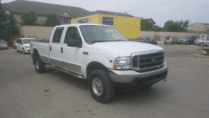 Saftied 2004 Ford F350 superduty