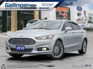 2015 Ford Fusion SE w/MOONROOF AND NAVIGATION