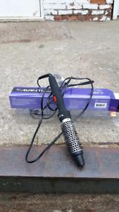 1-Inch Barrel Thermal Hot Air Brush Hair Curler