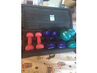 Pro fitness dumbells