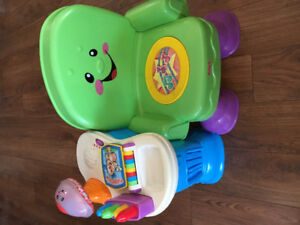 Fisher Price Laugh and Learn Chair.
