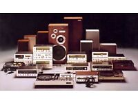 ~*~ ALL HIFI - STEREO~TV ~ ELECTRONIC EQUIPMENT WANTED ~*~