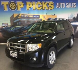 2010 Ford Escape VERY CLEAN! LEATHER, SUNROOF, 4X4, CERTIFIED!
