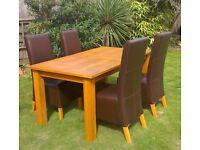 Cambridge Oak Dining Table Next Next Cambridge Light Dining Table