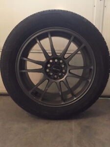 Cooper CS5 Grand Touring 225-55R18 (with rims)