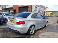 """STUNNING"" BMW 123D M-SPORT COUPE 204 BHP (2008) - RED LEATHER - SAT NAV - HPI CLEAR!"