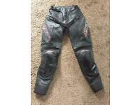Ladies RST leather motorcycle jeans size 8
