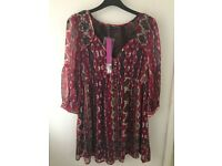 M&S brand new dress / long top size 8/10